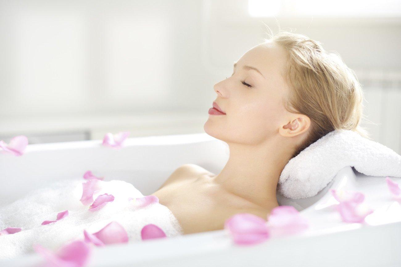 Entspannung mit selbstgemachtem Badesalz