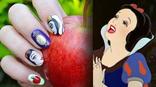 disney nails hor