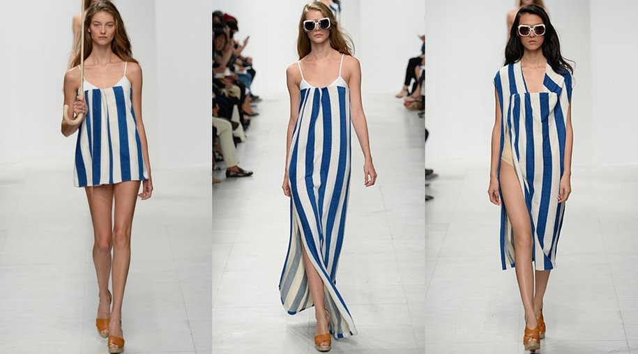 Blau-Weiß-Trend