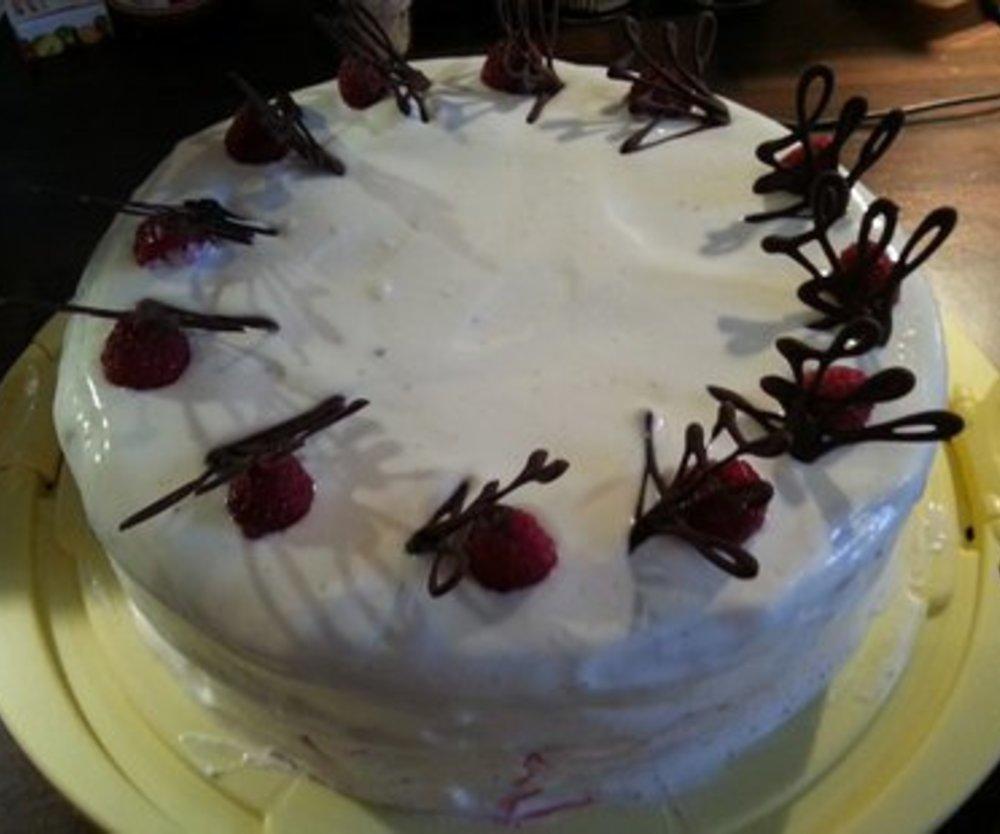 Himbeer-Joghurt Torte