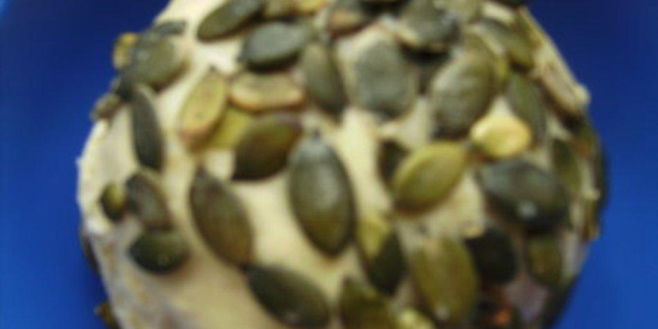 Qauarkbrötchen mit Kürbiskerne