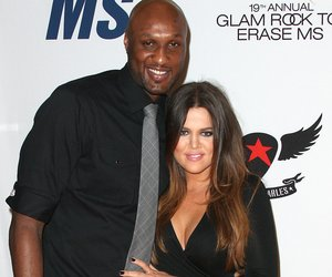 """CENTURY CITY, CA - MAY 18: Lamar Odom (L) and actress Khole Kardashian attend the 19th Annual Race To Erase MS - """"Glam Rock To Erase MS"""" event at the Hyatt Regency Century Plaza on May 18, 2012 in Century City, California. (Photo by Frederick M. Brown/Getty Images)"""