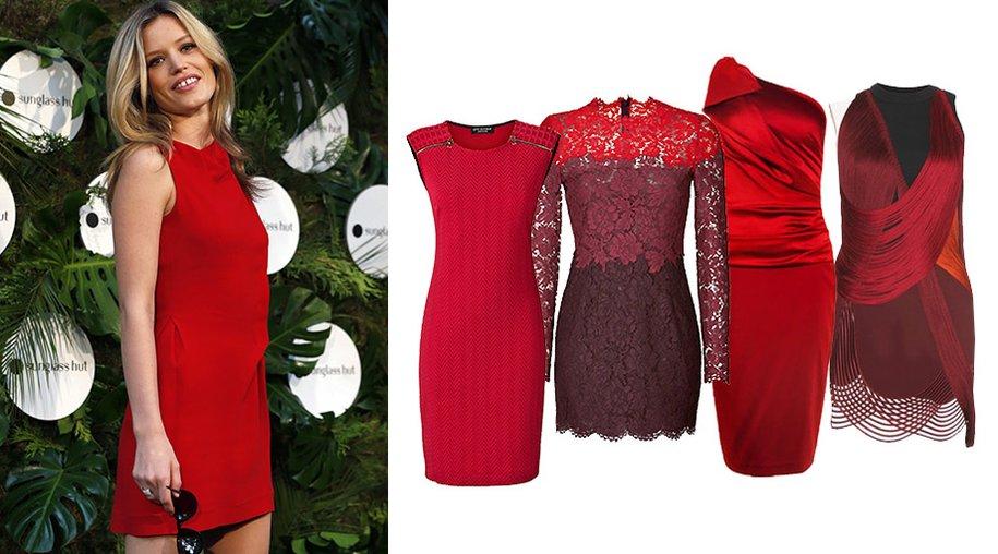 Rote Kleider