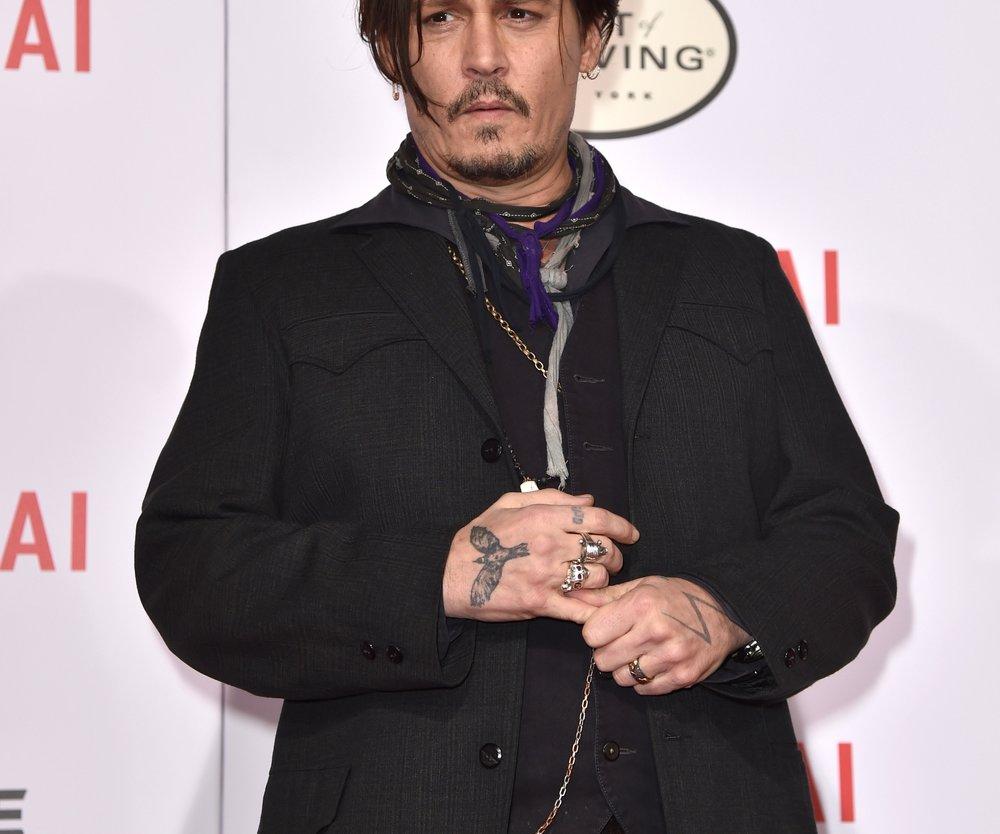 Johnny Depp machen singende Schauspieler krank