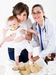Meistens ist ein Nabelbruch Baby ungefährlich