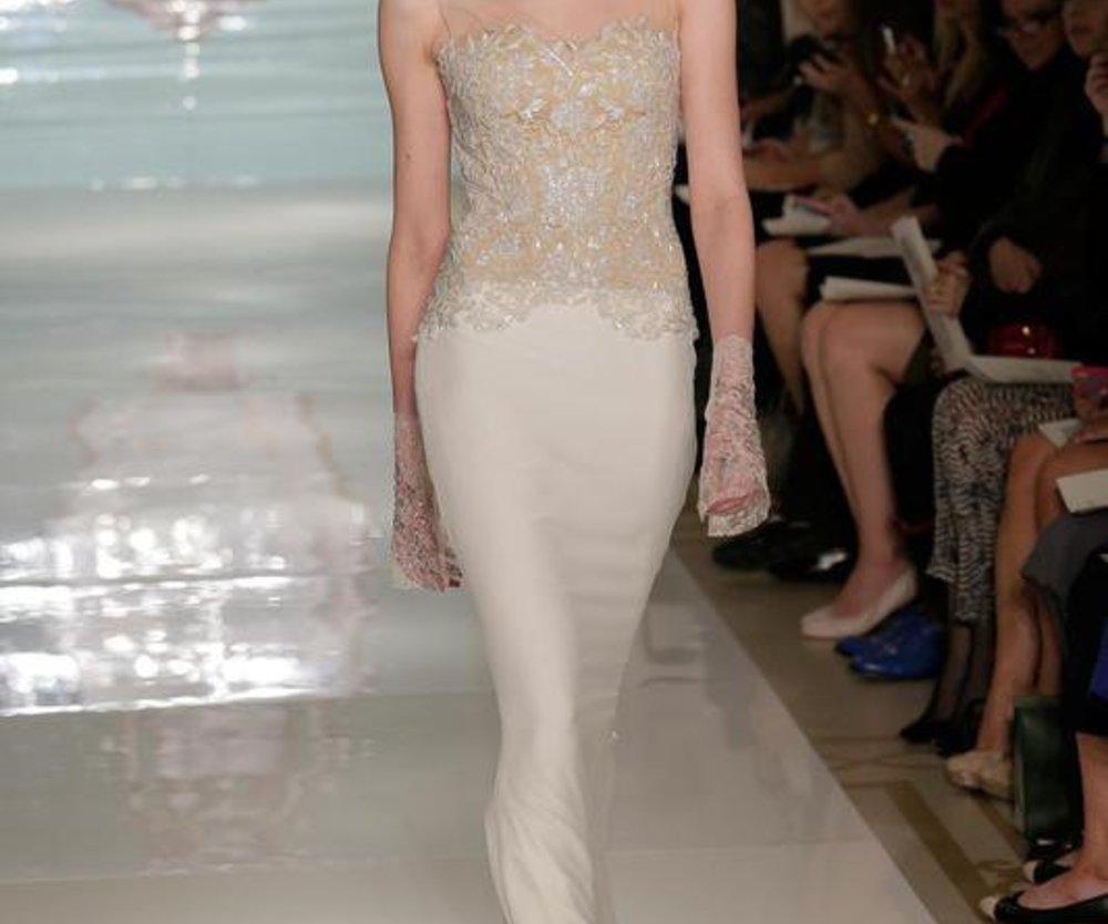 Reem Acra Bridal Couture Spring 2015