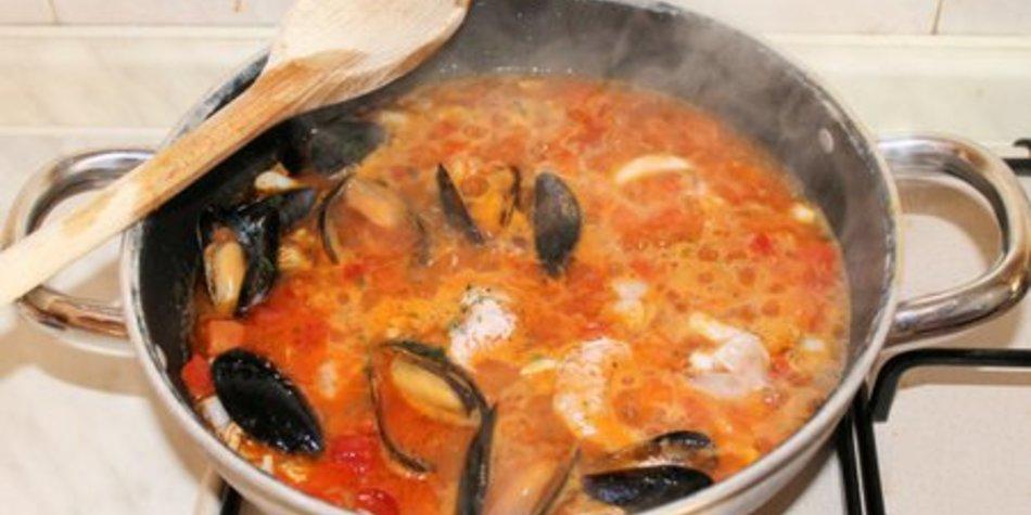 Französische Fischsuppe