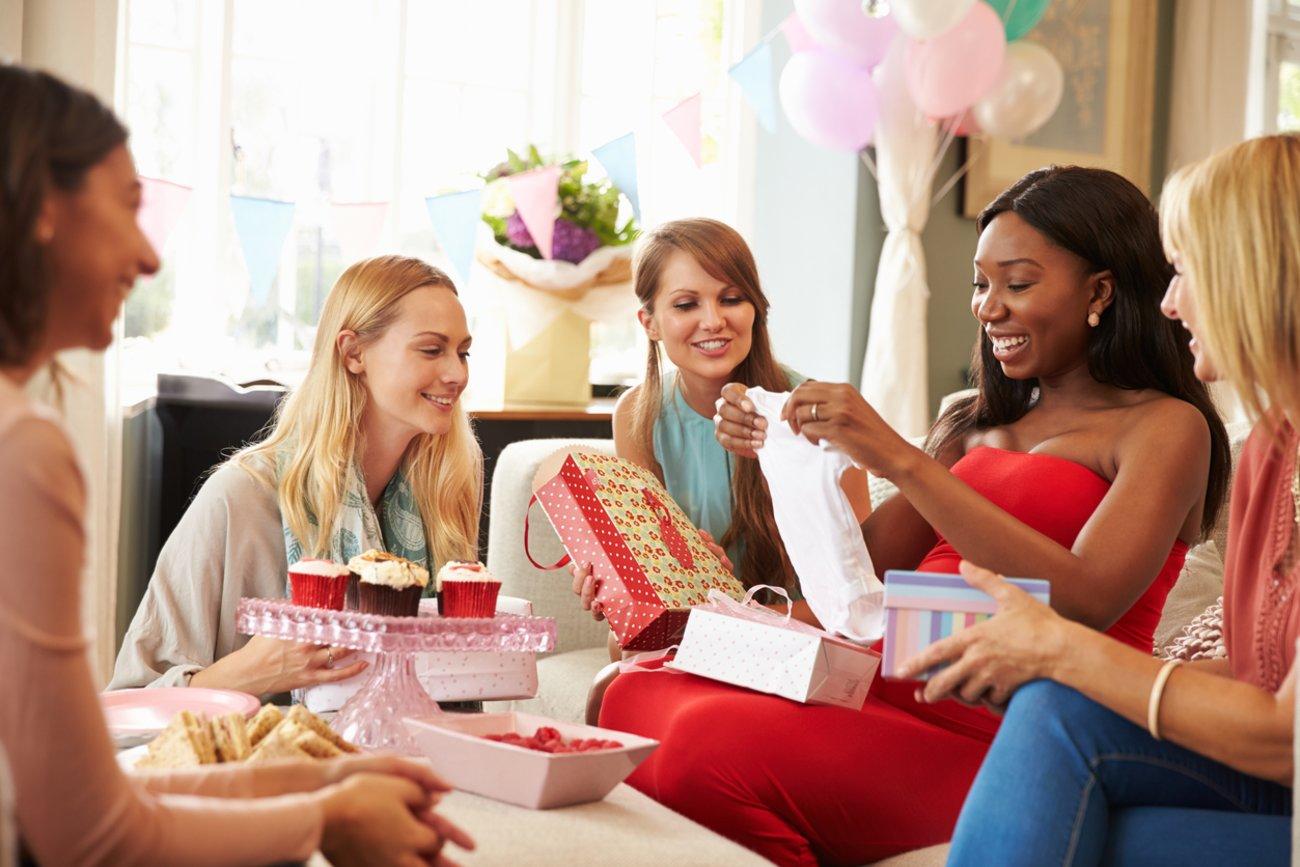 Geschenke zur Babyparty Babyshower