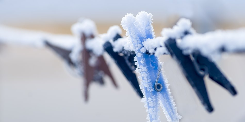 Darum sollte Wäsche bei Frost draußen trocknen | erdbeerlounge.de