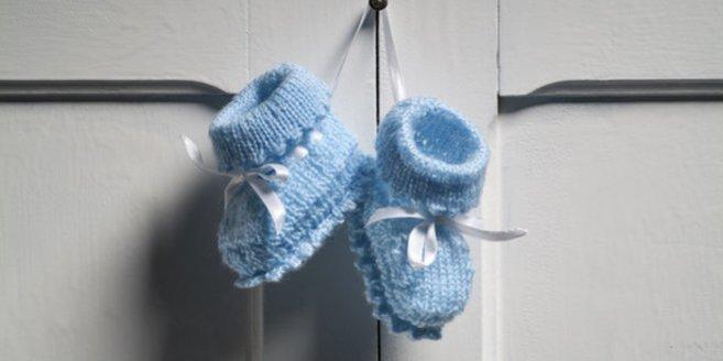 Do it yourself: Babyschuhe stricken