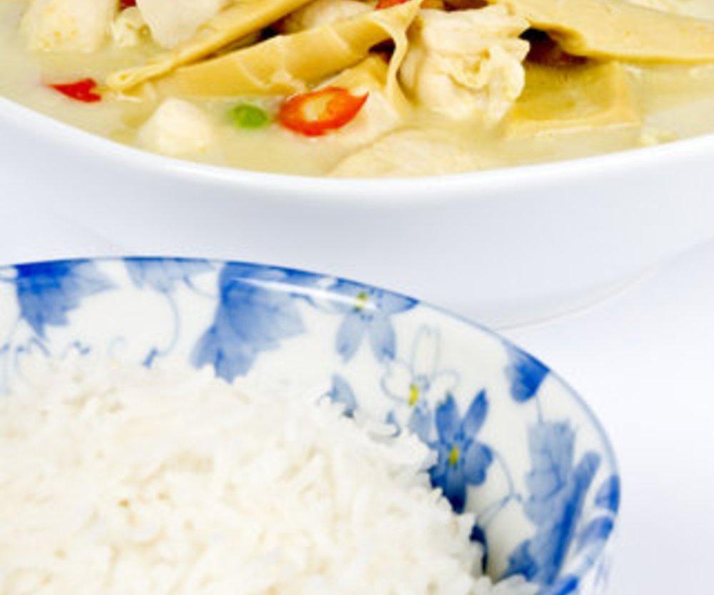 Hähnchen mit Curry-Gemüse