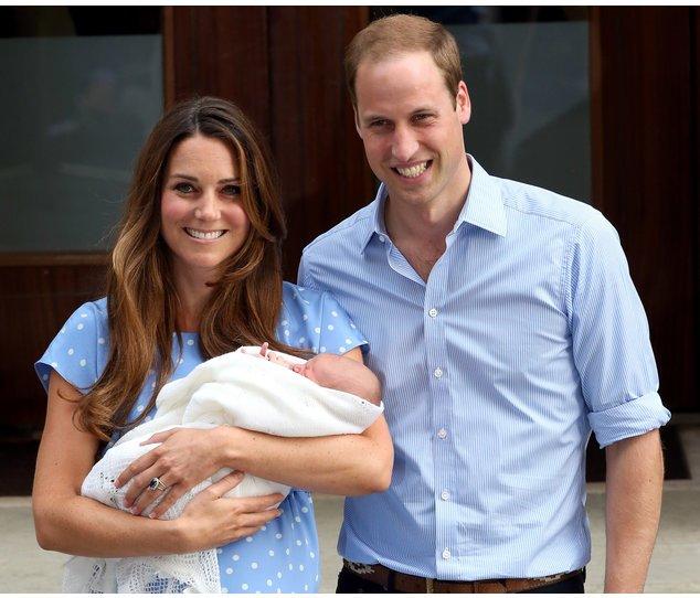 Kate Middleton, Prinz George und Prinz William