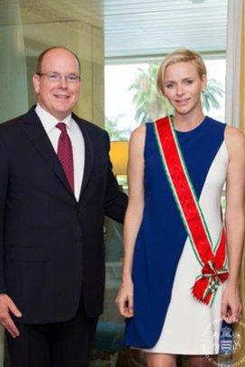 Charlène von Monaco und Fürst Albert auf Facebook