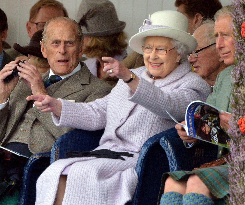 Queen Elizabeth und Prinz Philip feiern eiserne Hochzeit