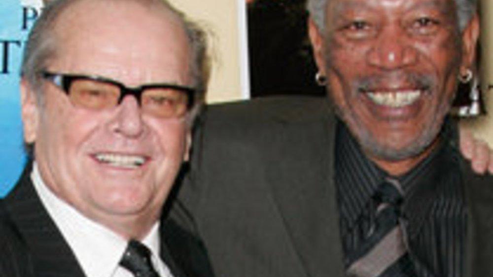 """Jack Nicholson und Morgan Freeman in """"Das Beste kommt zum Schluss"""""""