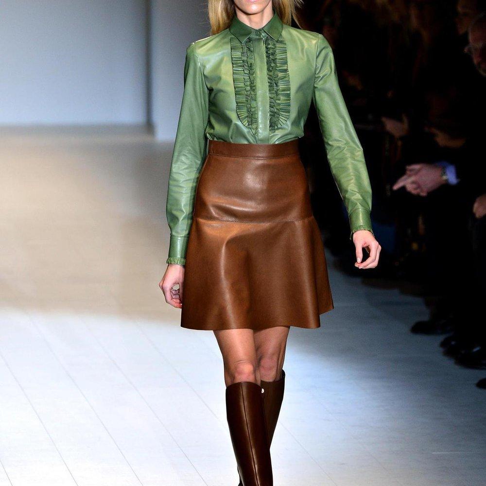 Mailand Fashion Week: Gucci zitiert die Herkunft des Hauses