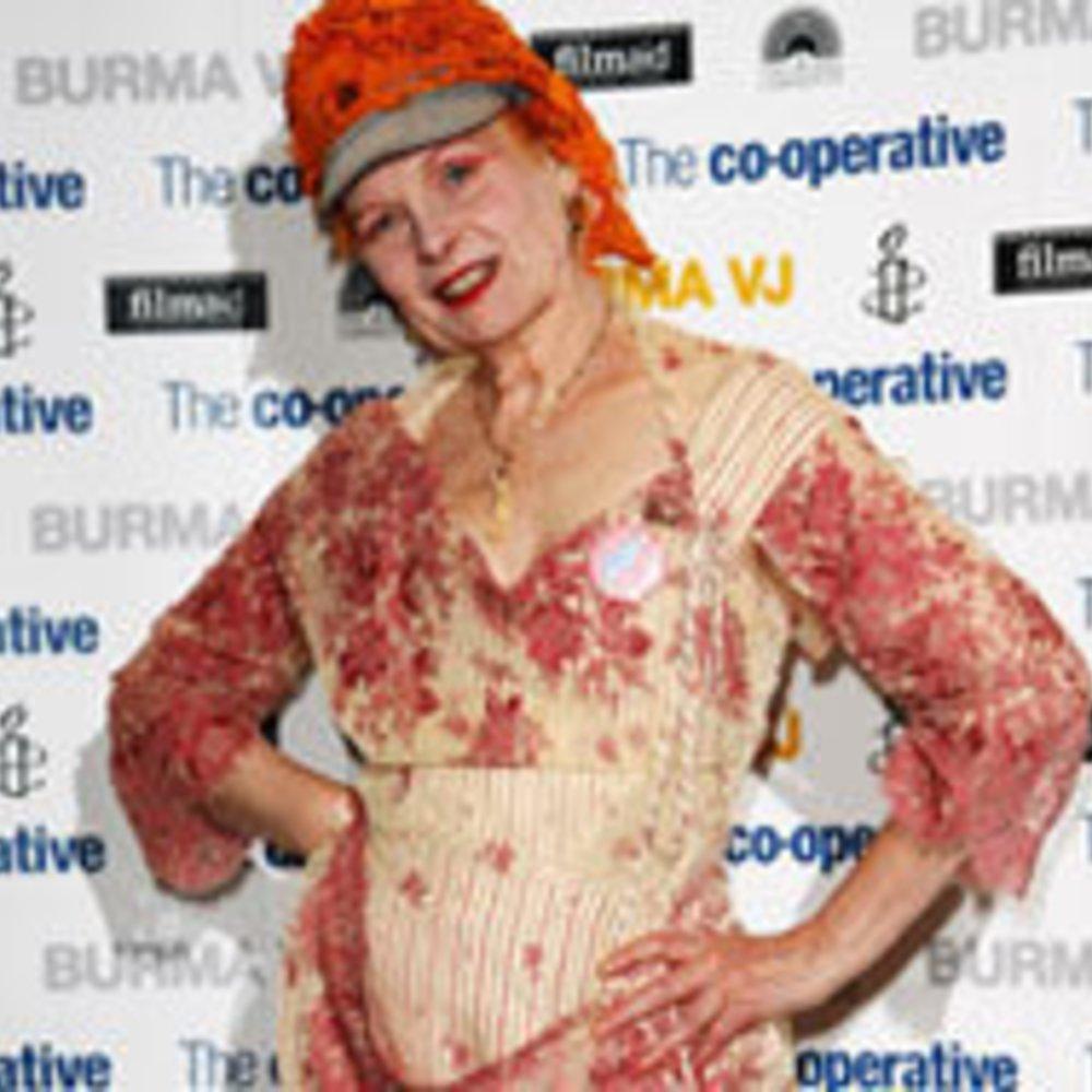 London Fashion Week: Vivienne Westwood gibt politisches Statement ab