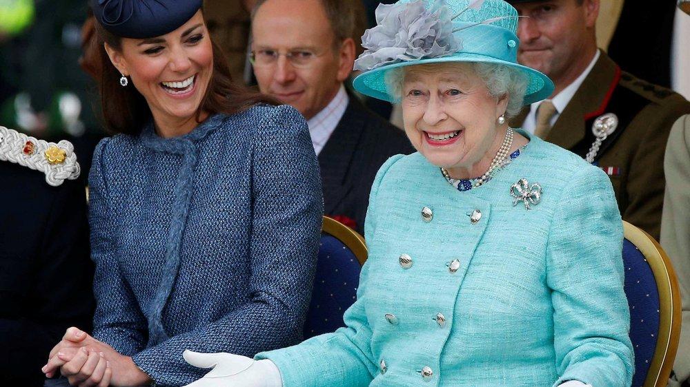 Kate Middleton und die Queen sind gute Freunde