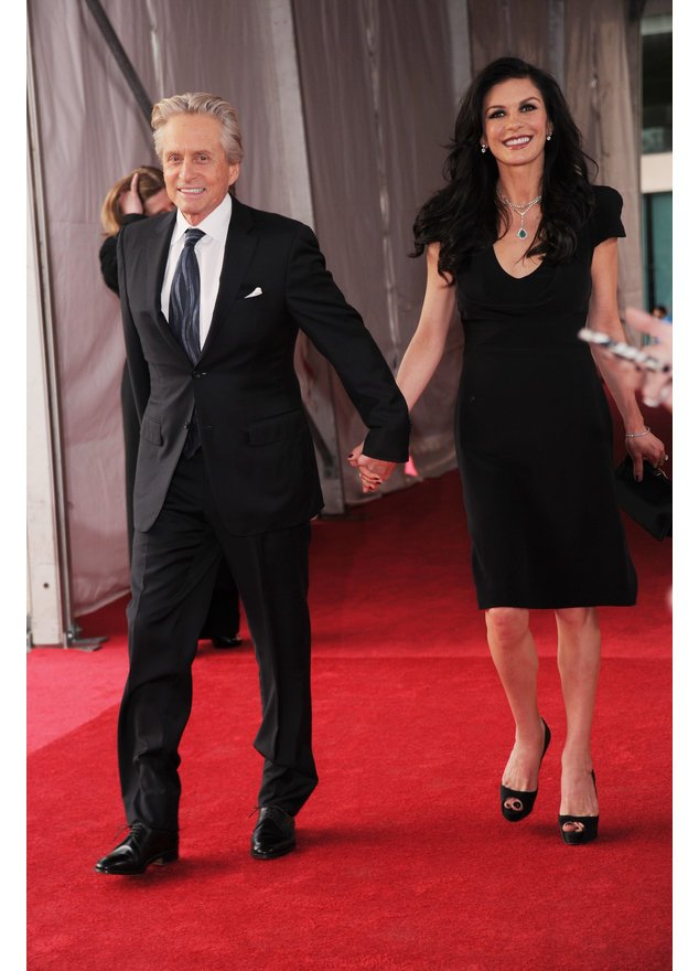 Michael Douglas und Catherine Zeta-Jones in New York