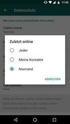 WhatsApp online verbergen