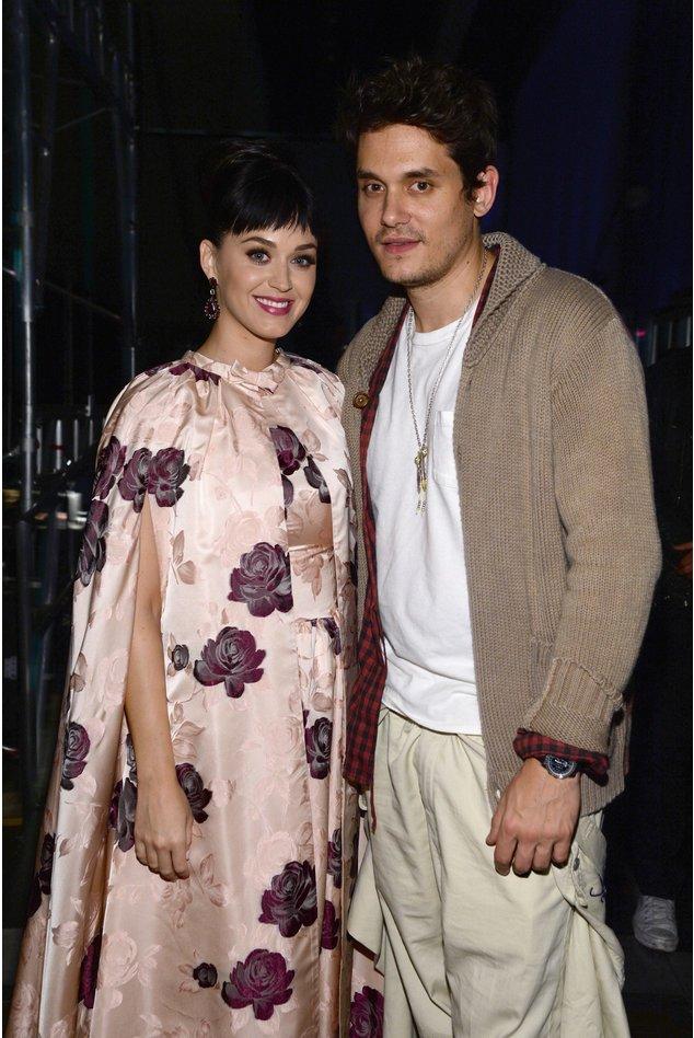 Katy Parry und John Mayer bei den Grammys 2014