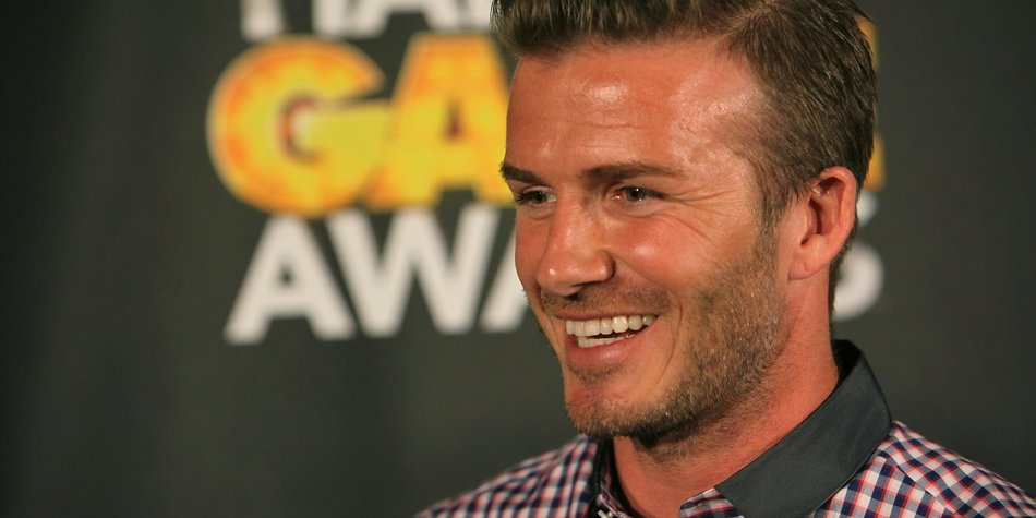 David Beckham will Weltmeister werden