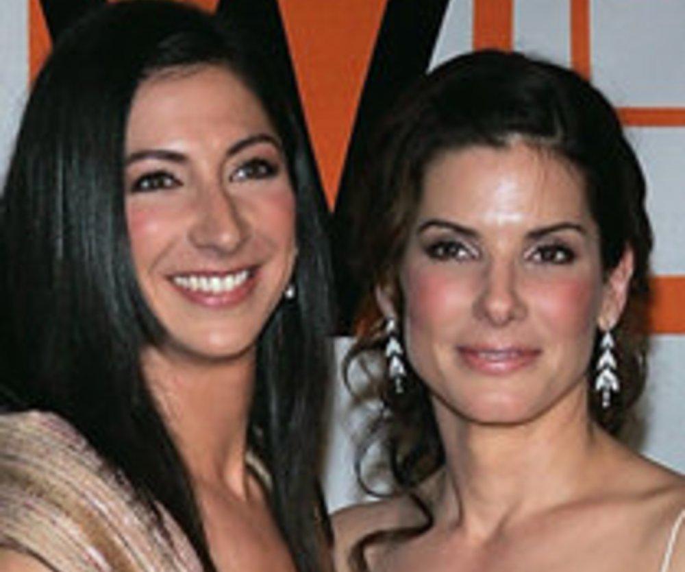 Sandra Bullock: Unterstützung von ihrer Schwester