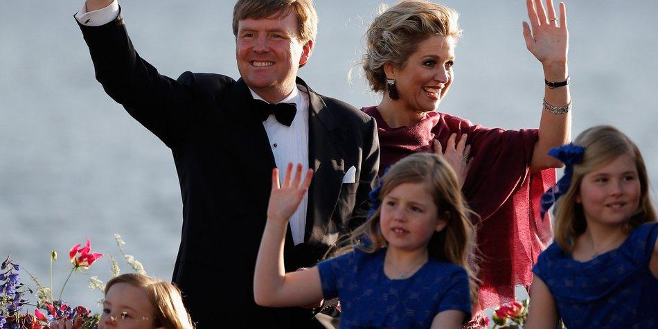 Maxima und König Willem-Alexander vermitteln deutsche Wurzeln