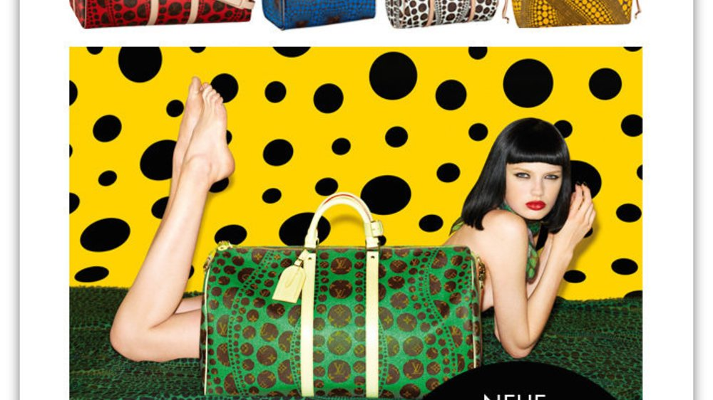 Louis Vuitton und Yayoi Kusama: Neue Kultstücke