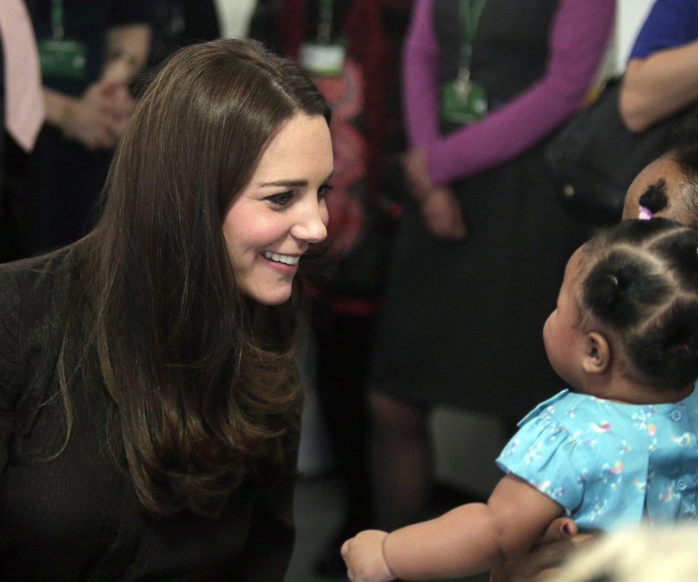 Kate Middleton: Auch bei der Arbeit denkt sie nur an George