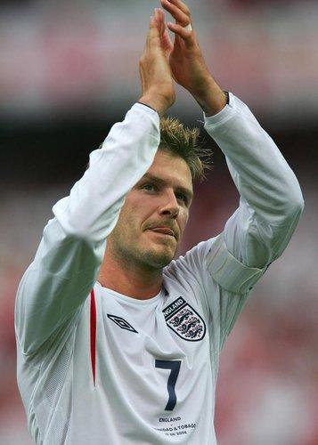 David Beckham spielt gegen Paraguay