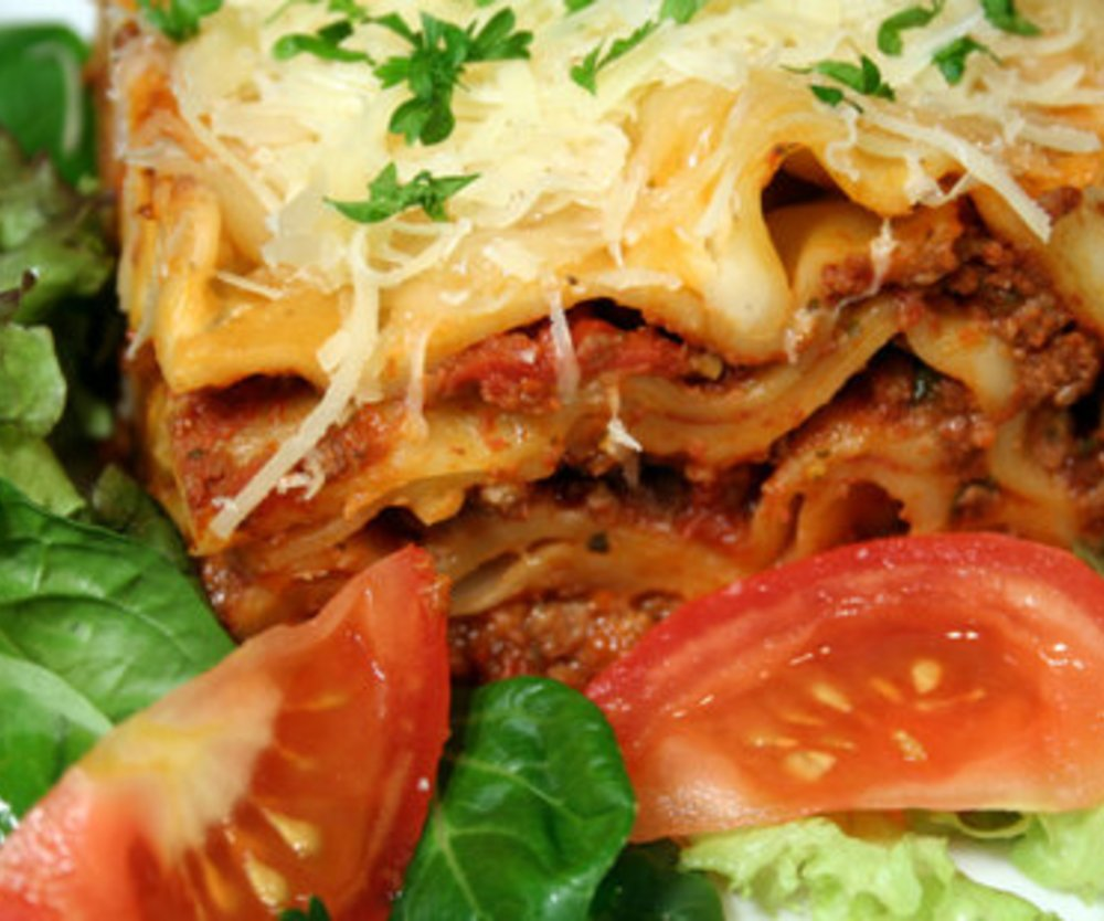 Lasagne italienisch