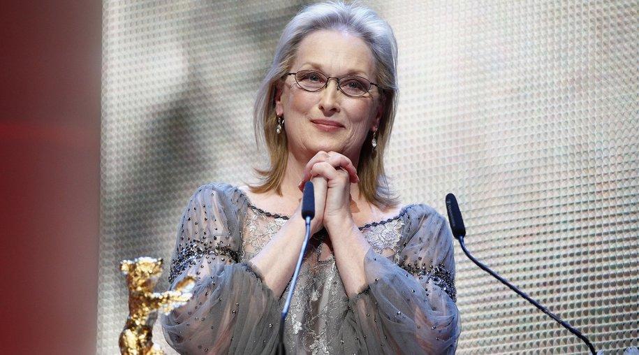 Meryl Streep bei der Berlinale ausgezeichnet