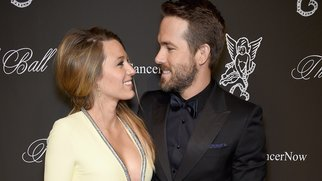 NEW YORK, NY - OCTOBER 20: Actress Blake Lively (L) and Ryan Reynolds attend Angel Ball 2014 hosted by Gabrielle's Angel Foundation at Cipriani Wall Street on October 20, 2014 in New York City. (Photo by Dimitrios Kambouris/Getty Images for Gabrielle's Angel Foundation)