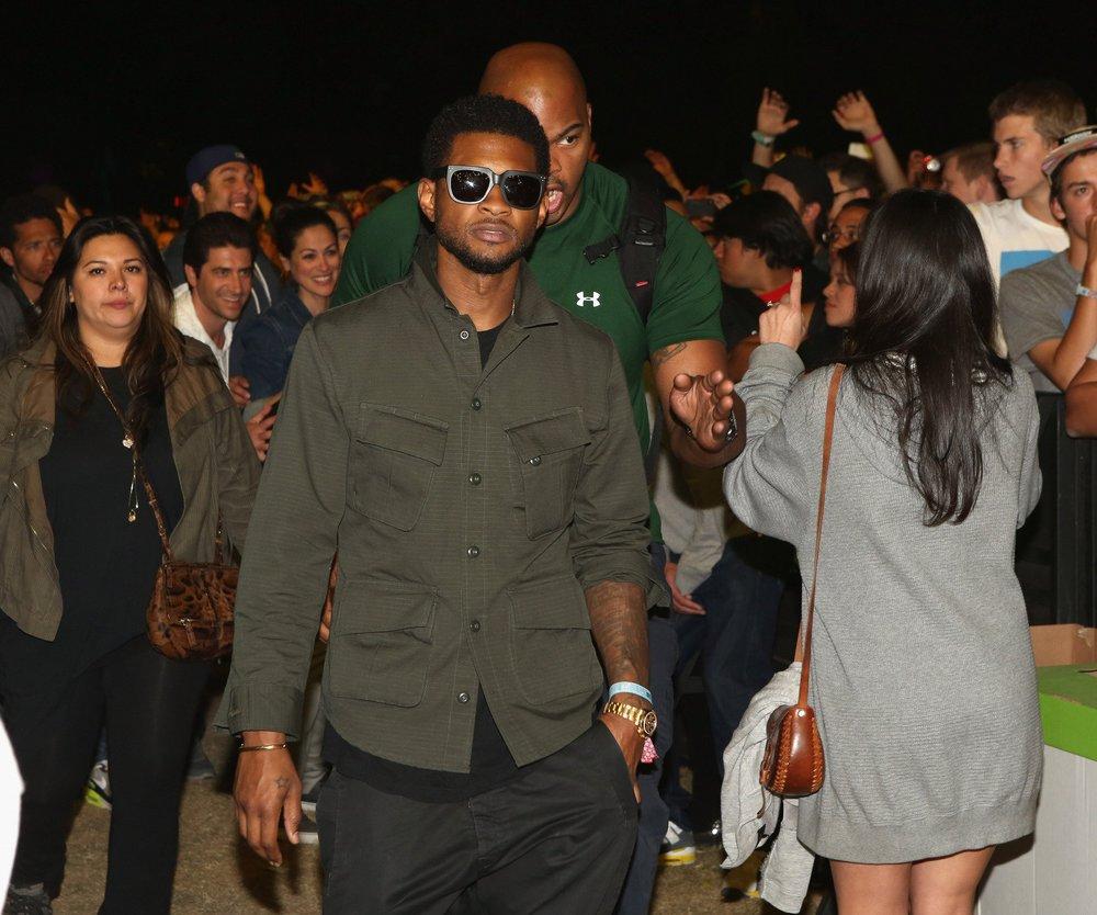 Usher unterstützt Justin Bieber