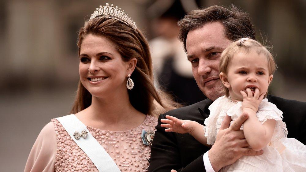 Prinzessin Madeleine: Mann und Tochter lernen gemeinsam Schwedisch