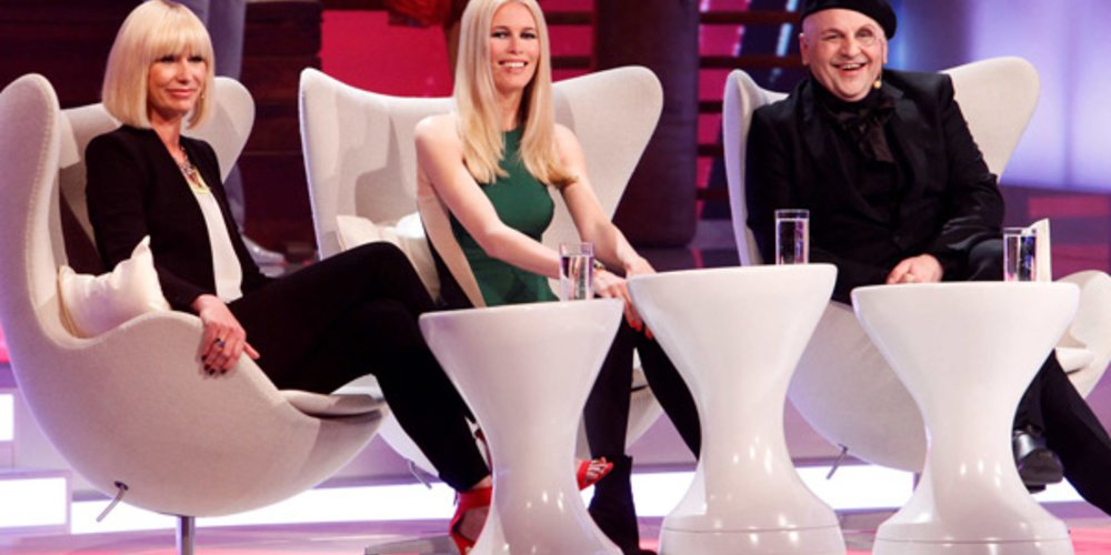 Claudia Schiffer bei Fashion Hero