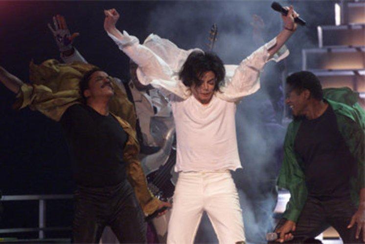 Der verstorbene Michael Jackson