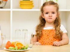 Der Verzehr von Obst und Gemüse kann kleinen Kindern nicht aufgezwungen werden.