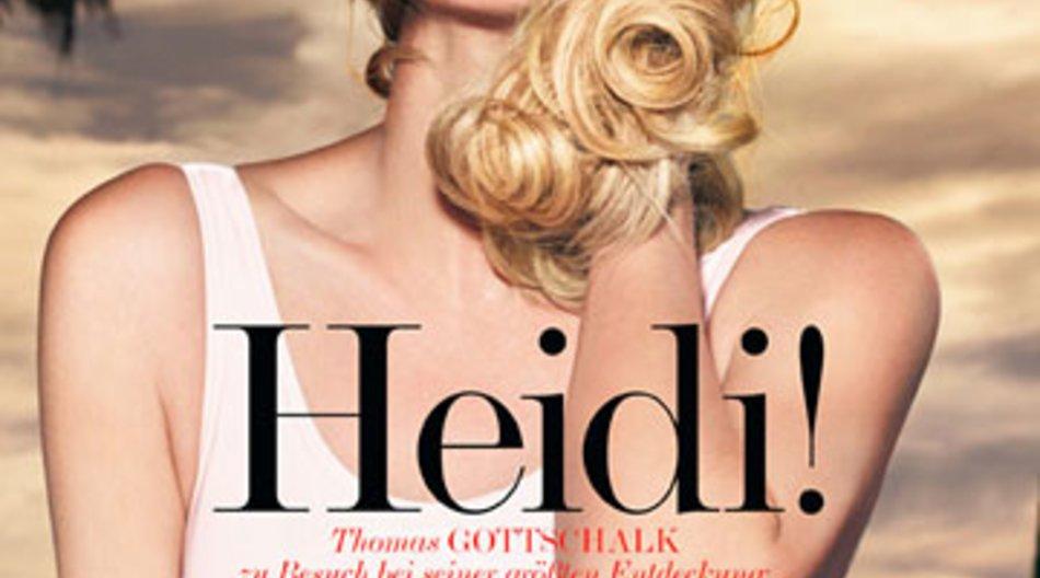 """Heidi Klum ließ sich für das """"Interview""""-Magazin von Starfotograf Rankin ablichten."""