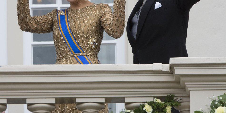 Willem-Alexander hält seine erste Thronrede