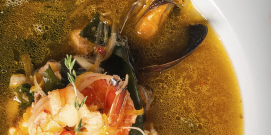 Miesmuscheln in Tomatensauce