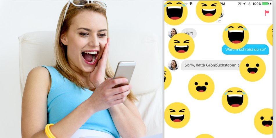 tinder reactions