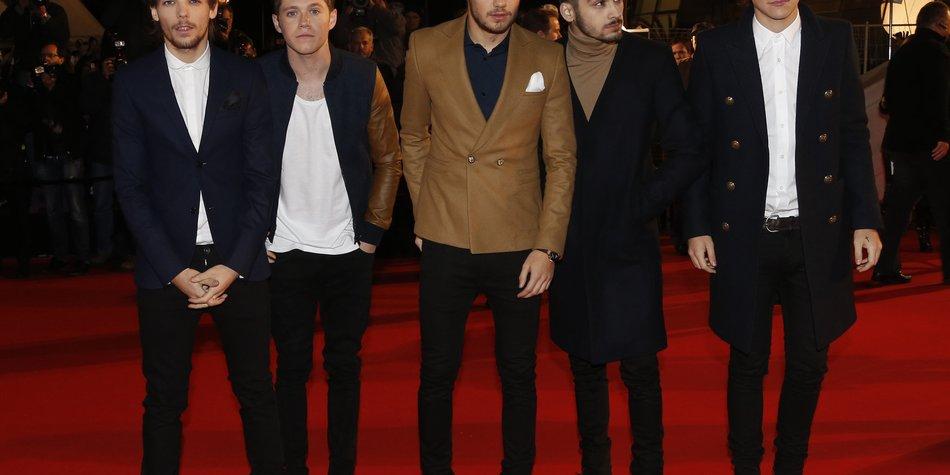 One Direction verschärfen ihr Sicherheitsaufgebot