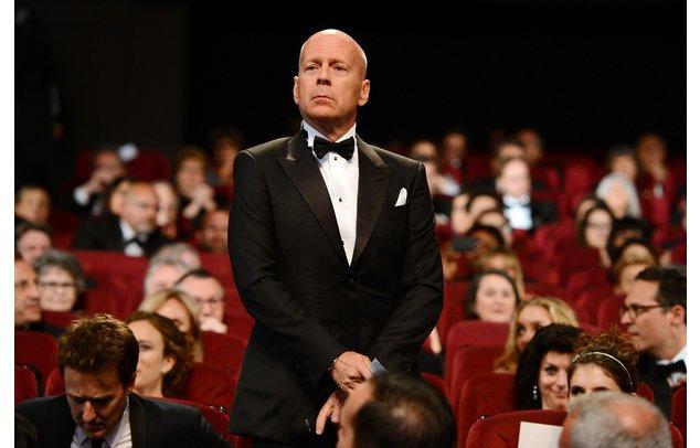 Bruce Willis in Cannes.