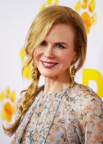 Nicole Kidman: Lockerer geflochtener Zopf
