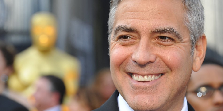 George Clooney darf gerne für schwul gehalten werden
