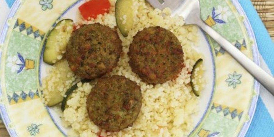 Kichererbsen Falafel