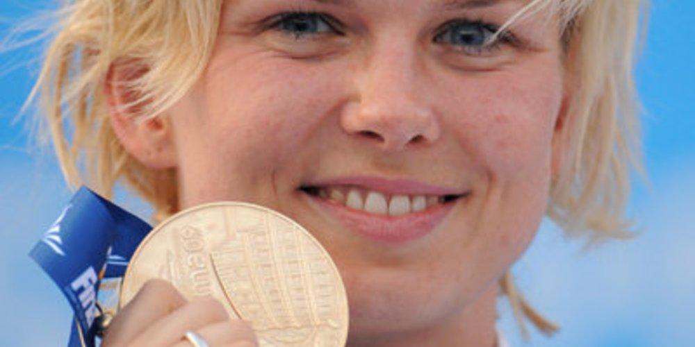 OLympiasiegerin Britta Steffen