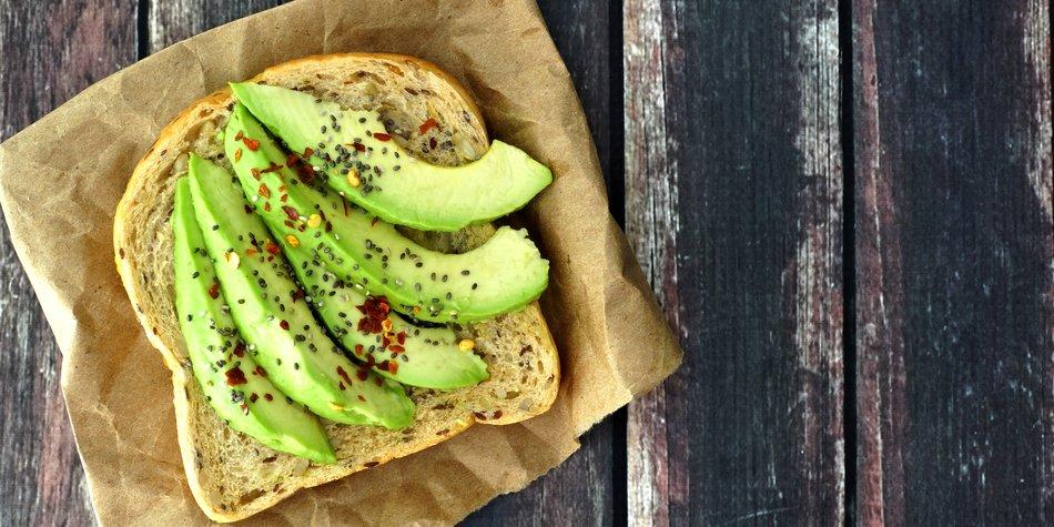 Diät-Frühstück: Avocado-Toast